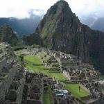 Ancient Machu Picchu.  Never found by the Spanish Conquiestadores but discovered by Englishman H