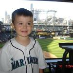 At a Seattle Mariner's game.