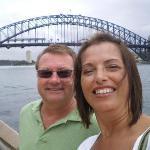 Lisa and Mark - Sydney Bridge