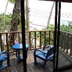 comfy balcony