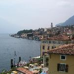 Town view of Limone