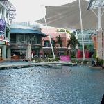 Shopping Courtyard at Millenium