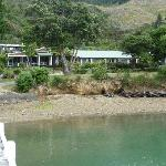 Approaching Raetihi by boat
