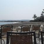 snack bar on beach