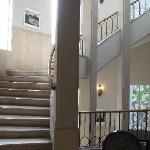 Stairs on the first floor