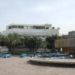 View of hotel across Dizengoff Square