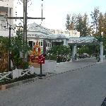 Hotelanfahrt