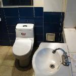 Filthy bathroom