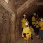 Walking in the mine