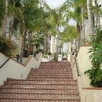 Staircase - Oasis Resort
