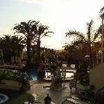 Sundown at Oasis Resort