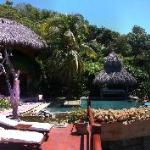 View of the Pool at Casa Cuitlateca