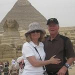 Sphinx. Pyramids, and Richard & Judie