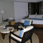 Water villa room