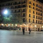 View of building across Square