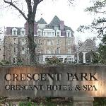 View of the Crescent Hotel