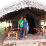 Kibo luxury tented accomodation in Amboseli