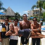 Awesome pool staff!