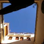 Sky from the courtyard
