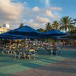 Buffet du Jolly Beach