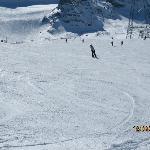 Blue slope 4 between Felskinn and Morenia