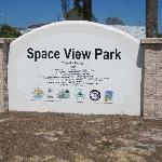 New sign at Space View Park