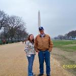 Me, Dad, and the Washington Memorial