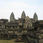 A more familiar view of Angkor