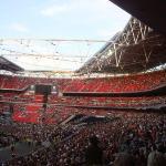 Record d'affluence au Wembley pour les deux dates avec 89000 personnes en l'espace d'une soirée.