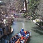 The Riverwalk, downtown San Antonio (Texas)