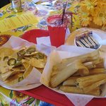 Dozen Tamales and Chips & Cheese