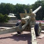 Fire! Også oppe ved monumentet med de sovjetiske tab.