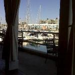 Lunch view at Baleen, Redondo Beach, CA