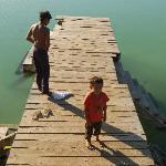 Monkey Forest lake