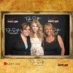 Me & my mom meeting Taylor SWIFT! she's too sweet!