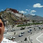 Anthony Maw in front of Potala Palace