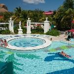 Jacuzzi at main pool