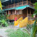 This is the house at the Cabinas