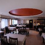 The Moti Mahal restaurant in Hotel Rajawas in Dibrugarh, Assam, India