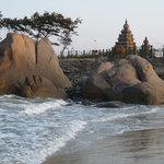 temple du rivage à coté de l'hôtel