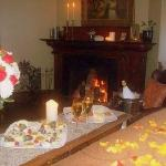 A Romantic Package set up for our guests' arrival