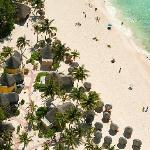 Aerial View - Mahekal Beach Resort, Caribe Section