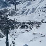 Cervinia from the Gondola