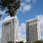 Two Towers of the Hyatt