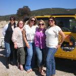 Our group with the Jeep