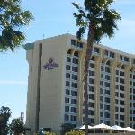 The Outside of the Hotel