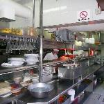Kitchen at Panchos