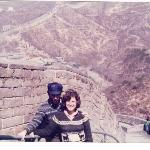 The Great Wall and his Mao hat