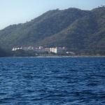 RIU resort from fishing boat