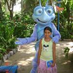 Thanh at Disney World Animal of Kingdom 2005